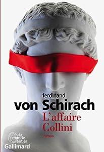 vignette de 'L'affaire Collini (Ferdinand von Schirach)'