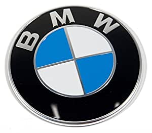 100 original bmw emblem logo original bmw on hood 82mm for all models bmw e30 e36. Black Bedroom Furniture Sets. Home Design Ideas