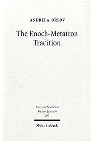 Amazon the enoch metatron tradition texts studies in ancient the enoch metatron tradition texts studies in ancient judaism fandeluxe Images