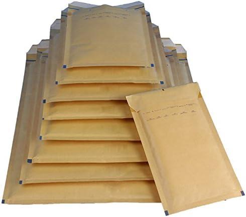 20 Luftpolsterversandtaschen Luftpolstertaschen Gr. H/8 braun ( 290 x 370 mm ) DIN B4