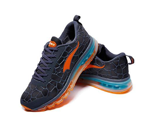 de Running Lake Unisex competición de OneMix Zapatillas Adultos Blue Orange Dilize AnqxSpw