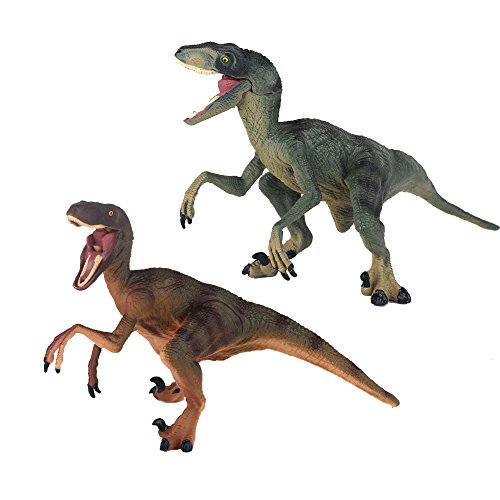 Ericoo Raptor Brother Reallistic Dinosaur Toys Figures with CPC Approval and ASTM Test Dino-006 -