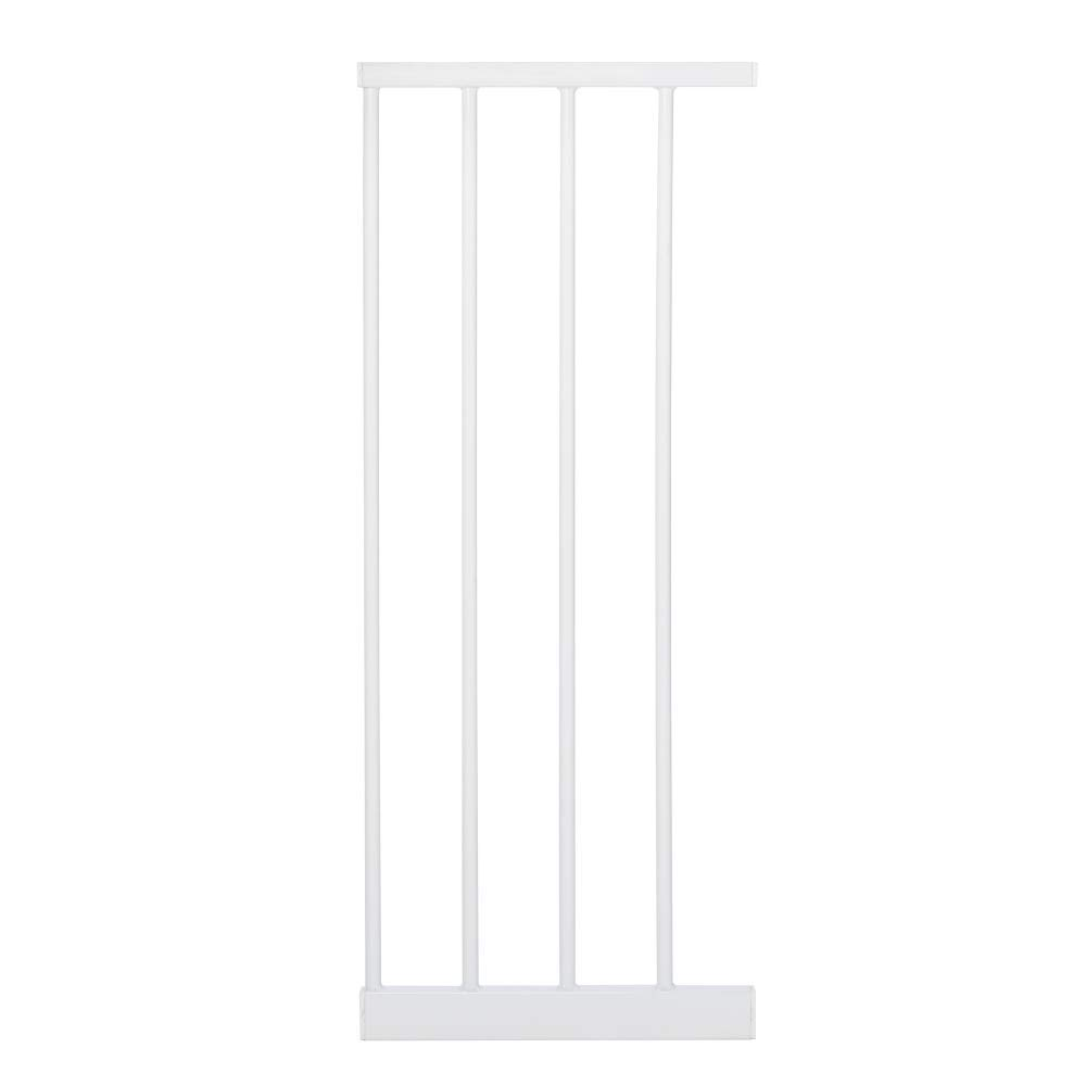 """Toddleroo by North States 4 Bar Extension for Essential Walk Thru Baby Gate: Adjust your gate to fit your space. Add up to three extensions. No tools required. (Adds 12"""" width, White)"""