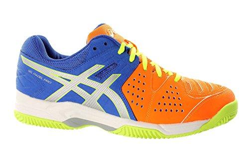 Asics , Chaussures multisports d'extérieur pour homme Blue/Silver/Flash Orange