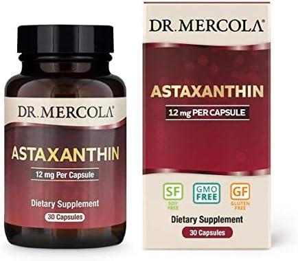 Dr Mercola Organic Astaxanthin 12mg