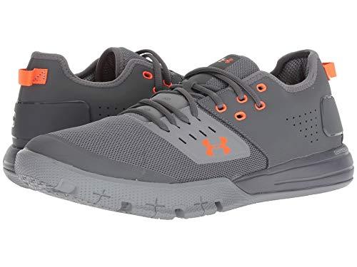 [UNDER ARMOUR(アンダーアーマー)] メンズランニングシューズ?スニーカー?靴 UA Charged Ultimate 3.0 Graphite/Steel/Magma Orange 9 (27cm) D - Medium