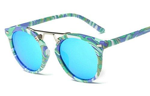 Sol Gafas Lady Blue Fashion Shopping Sunglasses De Bike wArE5qw