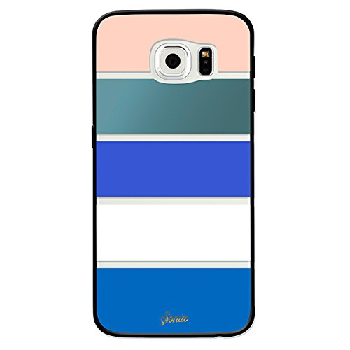 brand new 690a4 57f26 Sonix Case for Samsung Galaxy S6 Edge - Retail Packaging - Bondi Stripe