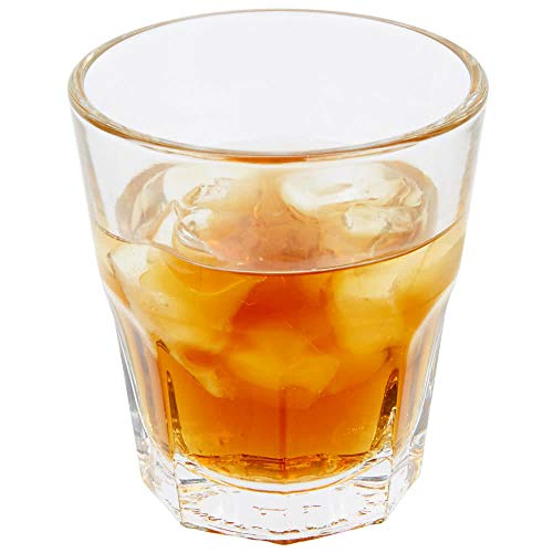 Libbey 15249 Gibraltar DuraTuff 5.5 oz Rocks Glass , SET OF 6 w/ FDL Party Picks