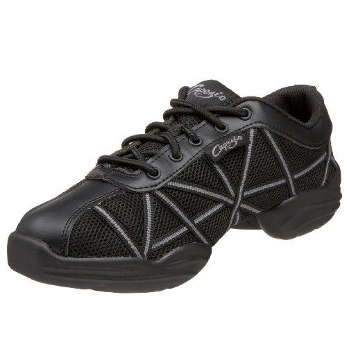 Negro schwarz Zapatillas schwarz Websneaker Capezio Para glanzschwarz Mujer OFIxqS