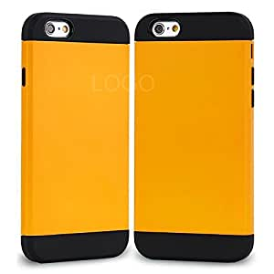 Fashion Outlet Fashion Beautiful Mobile Phone Case Cover Protective Shell Case for Apple iPhone6 4.7-inch (Yellow)