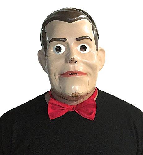 BESTPR1CE Halloween Mask- Goosebumps-Slappy Bowtie & Half Mask -Scary Mask ()