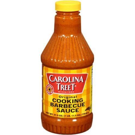 Carolina Treet Cooking Barbecue Sauce, Original Flavor, 27.5 Ounce.