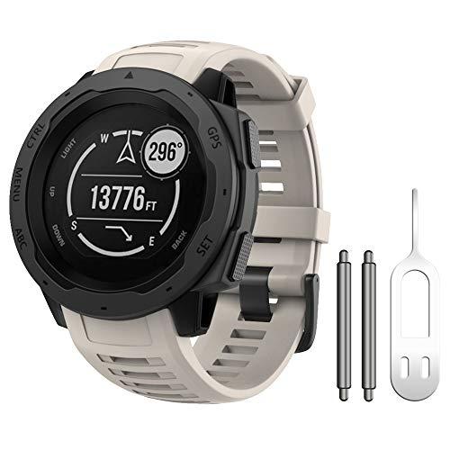Malla Para Reloj Garmin Instinct Sports 130-220mm Tundra