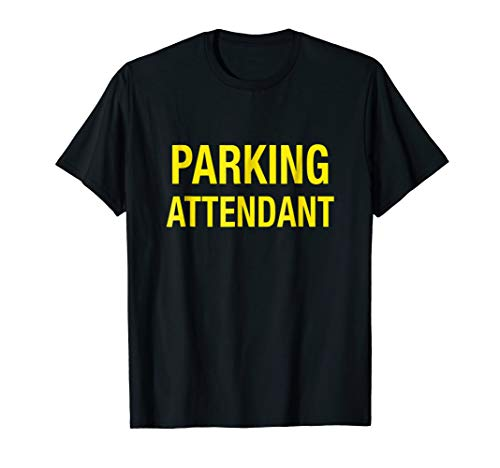 5e1ef703e1bf Parking Attendant Shirt Yellow Valet T-Shirt Parking Lot