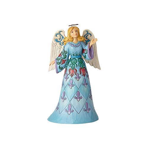 (Enesco Jim Shore Heartwood Creek Wonderland Blue Angel)