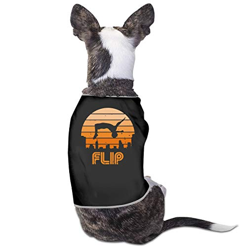Retro Flip - Parkour Puppy Costumes Pet Sleeveless T-Shirt Jacket Sweater