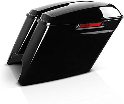 Seitenkoffer Stretched Für Harley Davidson Street Glide Flhx 14 20 Latch Black Auto