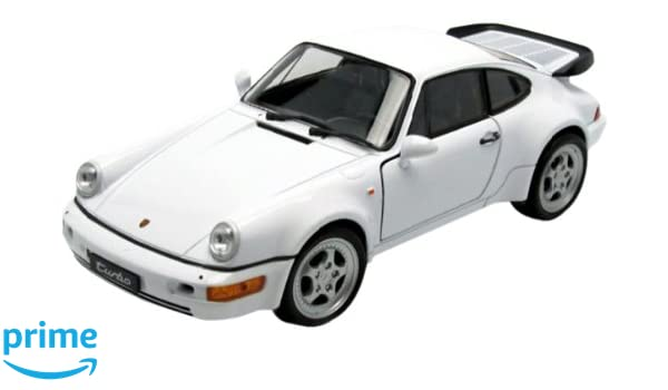 Welly PORSCHE 911 TURBO Car model 1:24 - Modelos de juguetes (Car model, 1:24, Blanco, 3 año(s), Caja con ventana, 1 pieza(s)): Welly: Amazon.es: Juguetes y ...