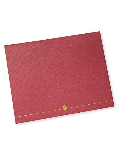 Red Award Certificate Holder - 6 CT ()