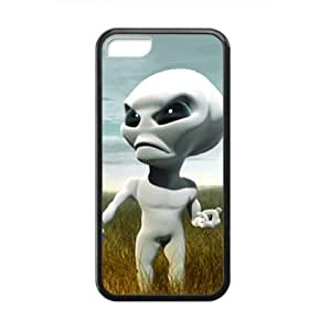 Cute Wild Aliens personalized creative custom protective phone case for Iphone 5C