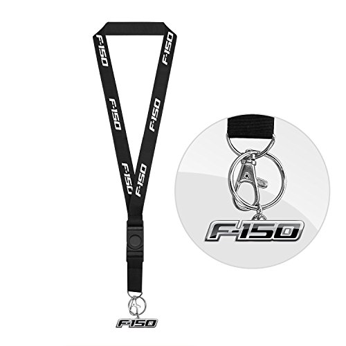 Ford F-150 Black Lanyard with Key Charm by iPick Image by iPick Image