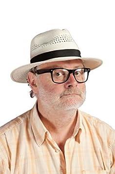 P  tit payaso 11211 sombrero Panama con cinta - Adulto - Negro Beige   Amazon.es  Juguetes y juegos 629da1470fb