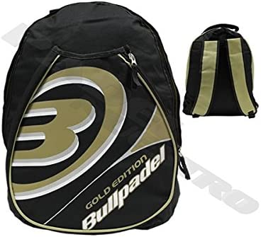 Bull padel Gold - Mochila de pádel, Color Negro/Oro: Amazon.es ...