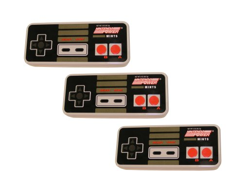 Price comparison product image Nintendo Controller Power Mints, Pack of 3
