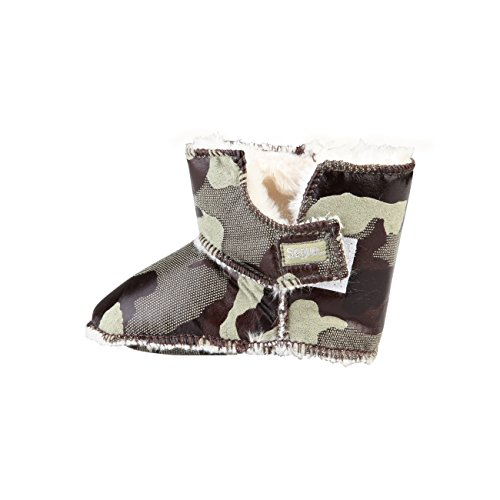 SEGUE Winterstiefel Babystiefel Moonboots Gr. S/M camouflage Geschenkpackung