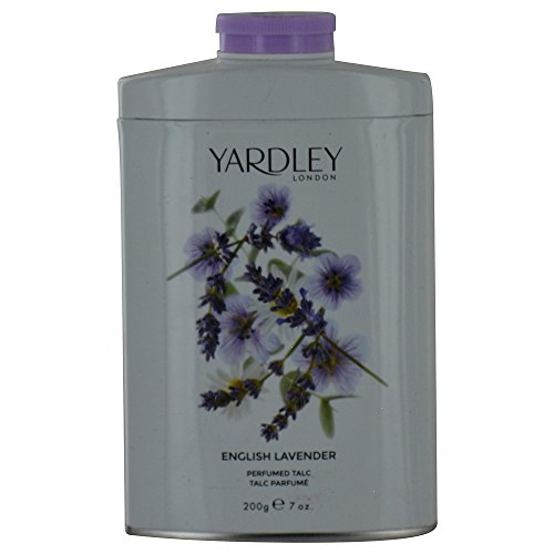 YARDLEY by Yardley ENGLISH LAVENDER TIN TALC 7 OZ (NEW PACKAGING) for WOMEN ---(Package Of 6) by Yardley