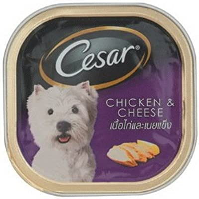 Cesar Chicken and Cheese 100g Dog Food NEW Made in Thailand