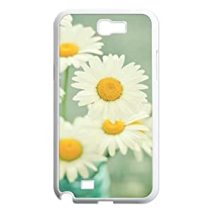 Custom Colorful Case for Samsung Galaxy Note 2 N7100, Daisies Cover Case - HL-R652135