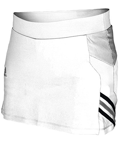 adidas Women's Team Utility Skirt White LG
