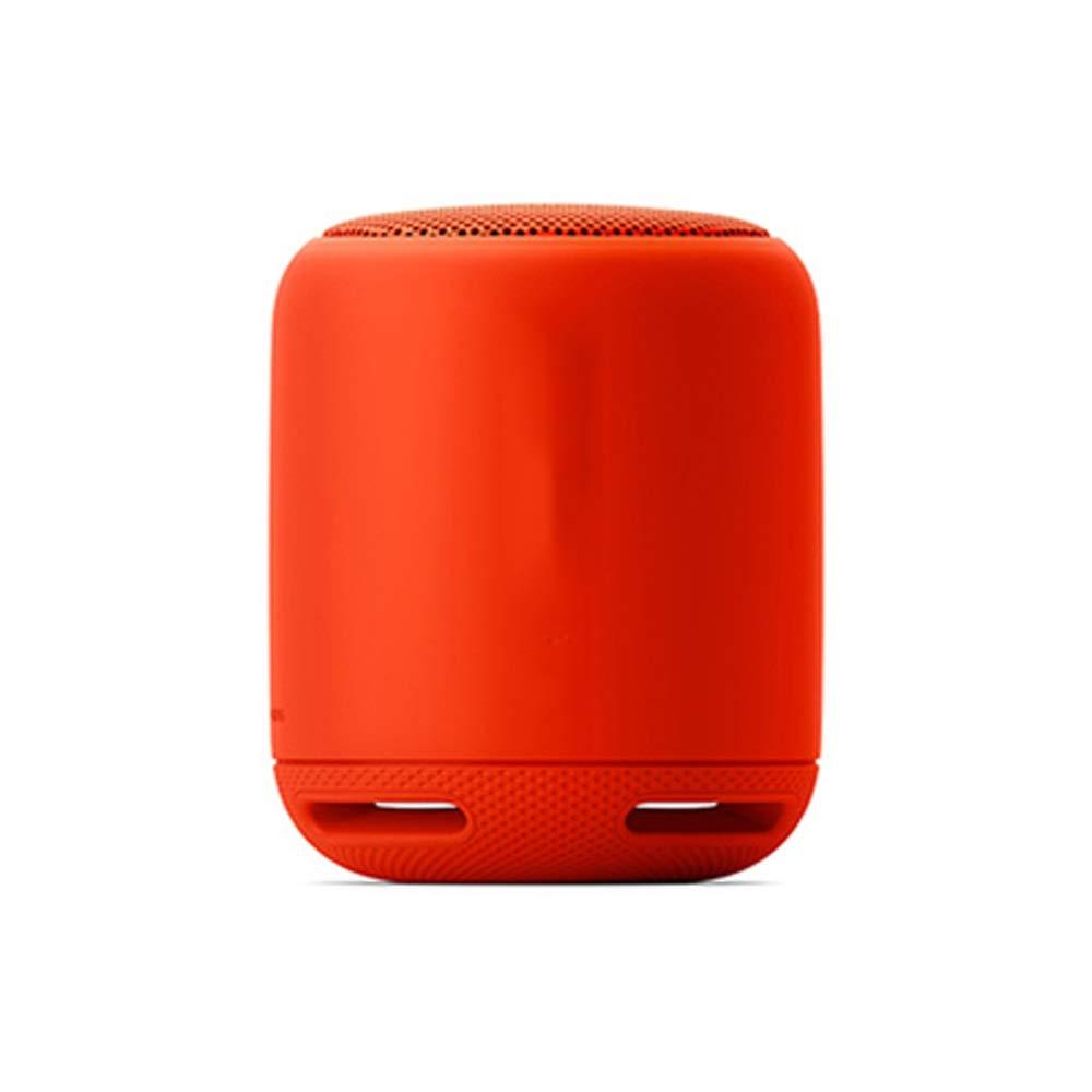 Tong 無線ブルートゥースのスピーカーのサブウーファーの屋外の外出の乗馬音楽のために適した屋外の小型小さい健全な防水 (色 : ブラック) B07QNXY5ZB 赤  赤