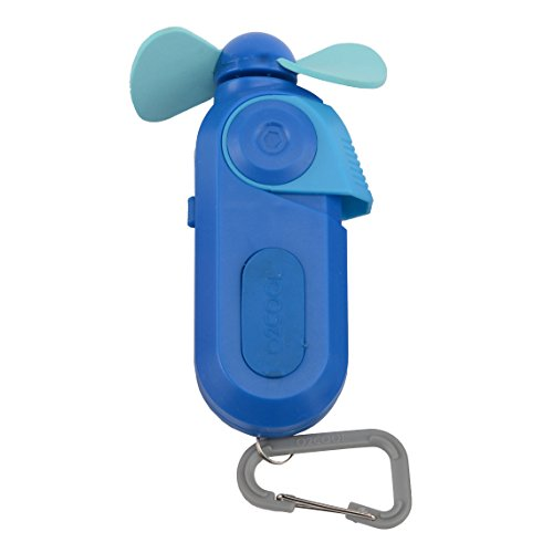 sport carabiner misting fan blue small misting