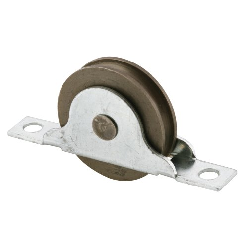Prime-Line Products N 6687 Closet Door Roller with 1-3/8-Inch  Steel Center Grooved and Ball Bearing Wheel,(Pack of -