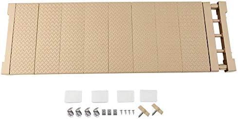 FTVOGUE Verstellbares Lagerregal, 50 to 80cm Ausziehbares Trennwand für Garderobenschrank Multifunktions Lagerregal