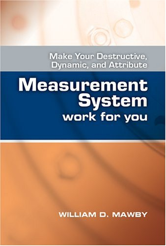 Make Your Destructive, Dynamic, and Attribute Measurement System Work For You