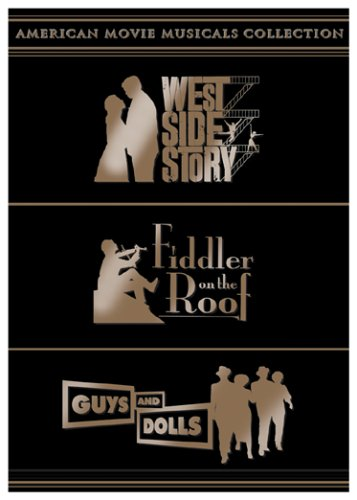 American Movie Musicals Collection: West Side Story/Fiddler on the Roof/Guys and Dolls (Dvd West Story Side)
