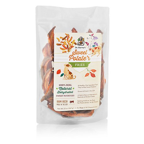 Dr Harveys Sweet Potater Fries Dog Treat