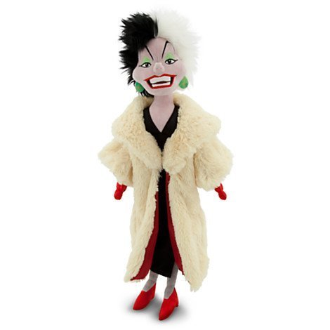 Disneys Cruella De Vil Plush Doll 21 -