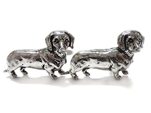 - Kiola Designs Dachshund Wiener Dog Cufflinks
