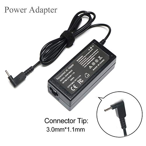 New R14 C720 C740 65W AC Adapter Laptop Charger for Acer Chromebook R11 11 13 14 15 CB3 CB5 CB3-131 CB3-532 CB5-132T CB5-571 Aspire one S5-371 S5-391 S7-391 S7-392 R5-471T R5-571TG [19V 3.42A] (Acer R14 Laptop Charger)