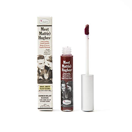 Meet Matte Hughes Long-Lasting Liquid Lipstick, Adoring, Lightweight Matte Finish -