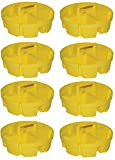 Bucket Boss, 5 Gallon Bucket Stacker Parts Organizer Trays - Quantity 8