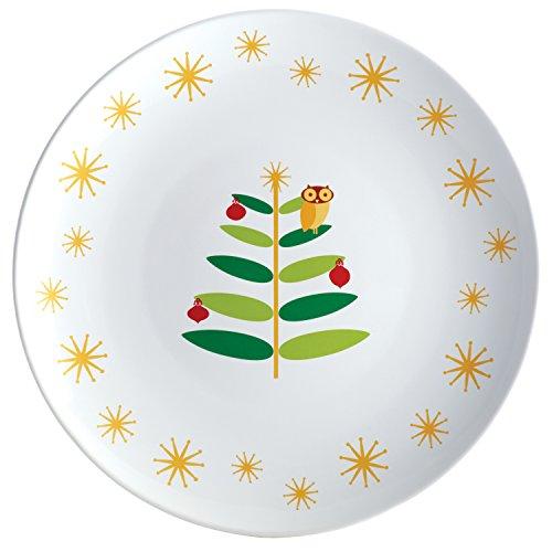 Rachael Ray Holiday Hoot 14-inch Round Platter