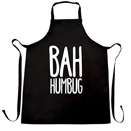Bah Humbug Christmas Gift Idea Scrooge Apron