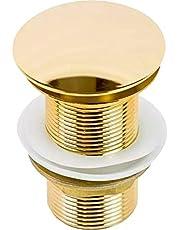 Válvula de escoamento Click para Cuba de banheiro Iguatemi - Dourada