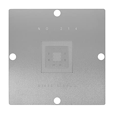 0.45 mm; 0.5 mm; 0.6 mm; 0.76 mm ACHI LP-56 BGA Reballing Station 56 Stencils